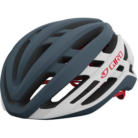 Giro Agilis Helm, matte portaro grey/white/red